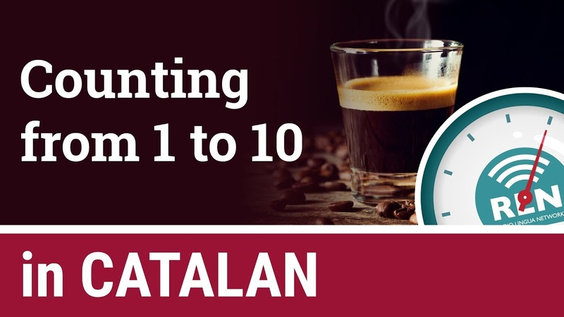 How to count from 1 to 10 in Catalan One Minute Catalan Lesson 8
