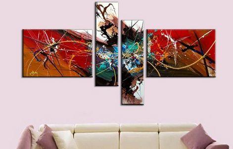 модульные картины на стену маслом
