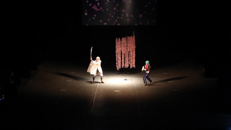 Yume no Yukido - Цурумару Кунинага, Хитофури Итиго/ Touken Ranbu(Ковров) - FAP 2018. Festival of Asian Popular culture