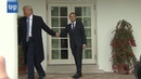 Trump and Macron held hands A lot