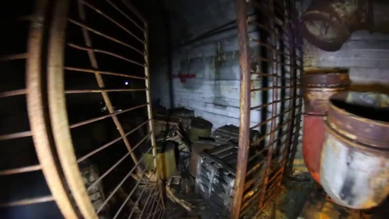 Запретный Златоуст _ огромный заброшенный бункер на территории завода Булат (Челябинская Область)