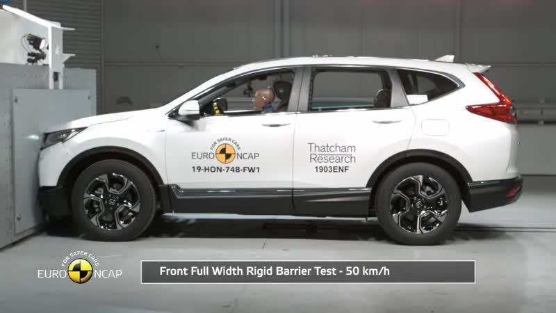 Краш тесты Euro NCAP Honda CR V