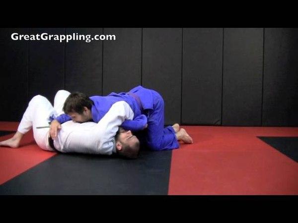 Half Guard Sweep Kimura Roll
