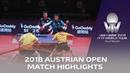 Jeoung Youngsik/Lee Sangsu vs Masataka M./Yuya Oshima I 2018 ITTF Austrian Open Highlights (Final)