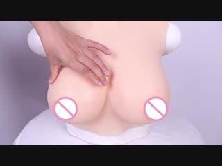 U-CHARMMORE silicone breast forms fake boobs crossdresser transgender shemale liquid filling artificial realistic boobs