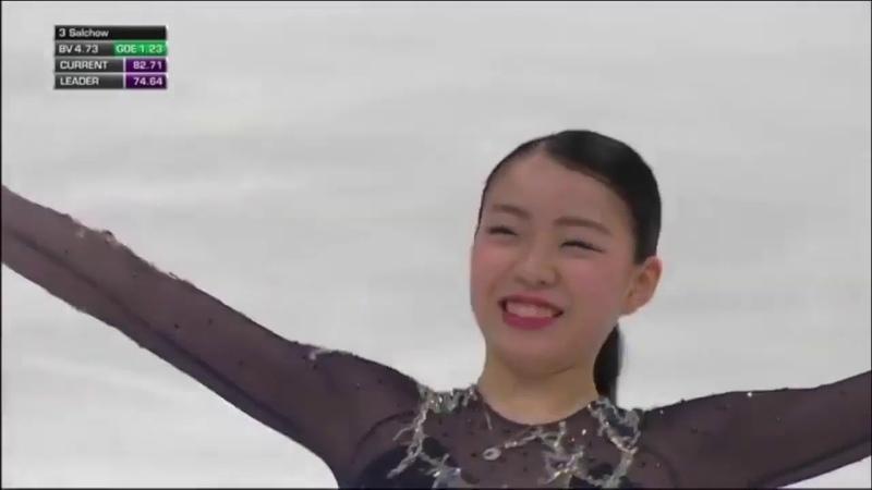 221,99/Итоговое 1 место/Rika Kihira/Чемпионат четырех континентов/2019
