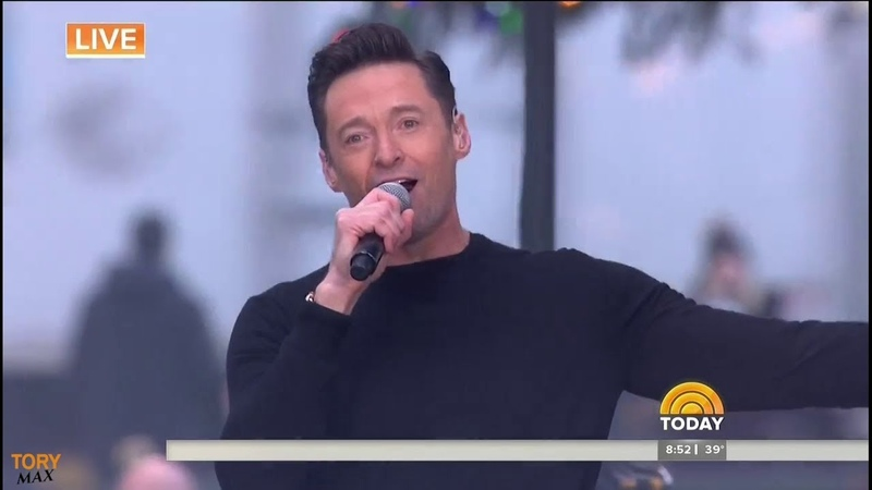Hugh Jackman performs The Greatest Show (LIVE on Today Show 4 December 2018)