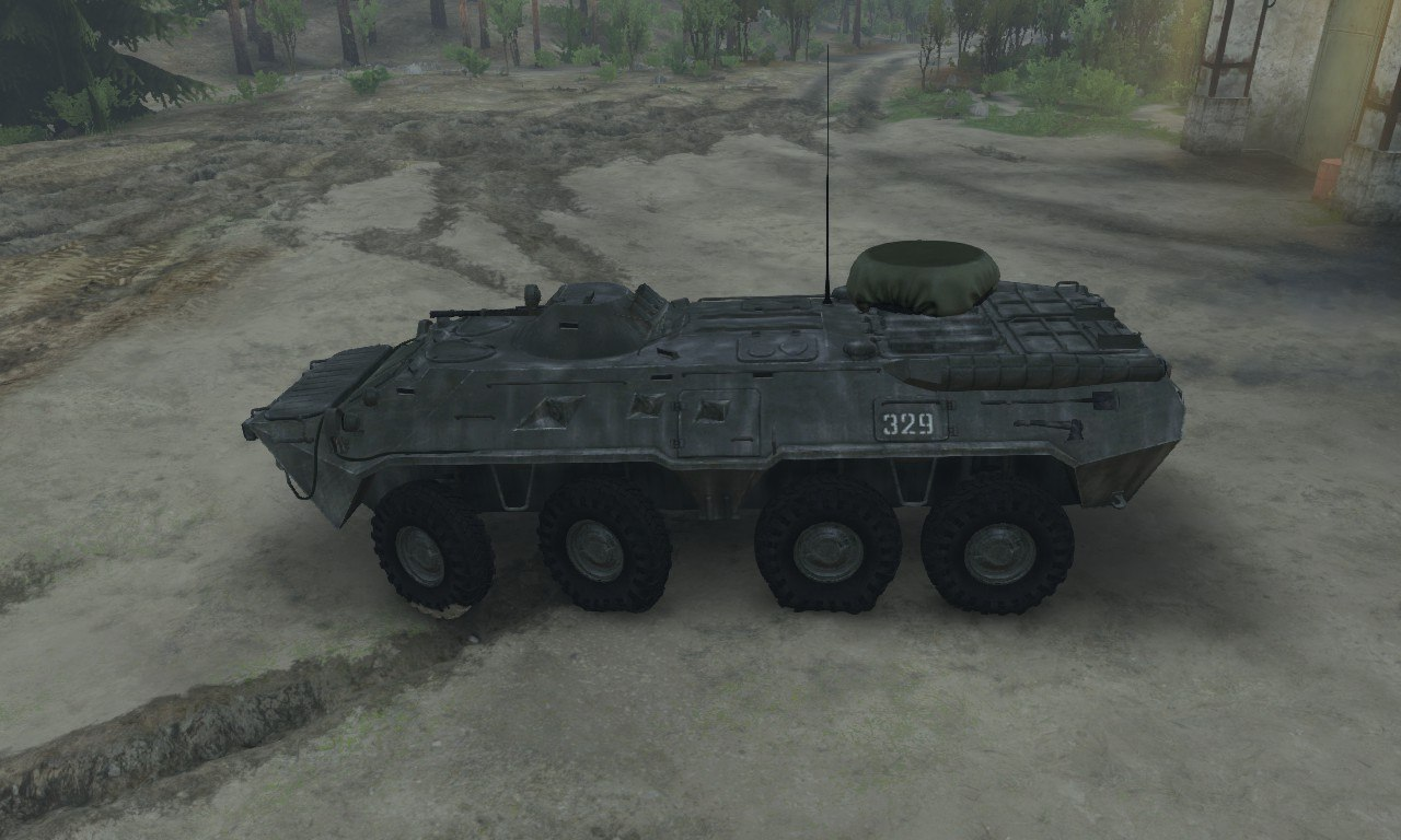 BTR-80 для 03.03.16 для Spintires - Скриншот 3