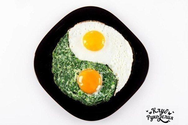 9 интересных способов подать яичницу