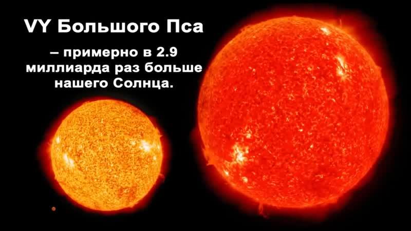 Планета в 3 миллиард раз больше Солнца