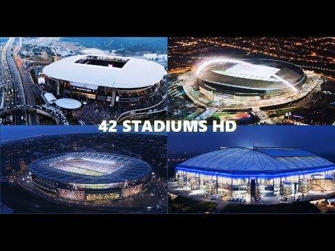 42 Stadiums HD [Stadium Pack by AZ Mods] for PES 2017 | AZ Pitch Evolution Final