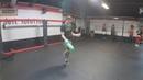 Taras Shelestyuk showing how to jump like a boxer on jump rope