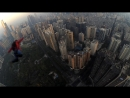 China, Guangzhou. Base jump March 2018