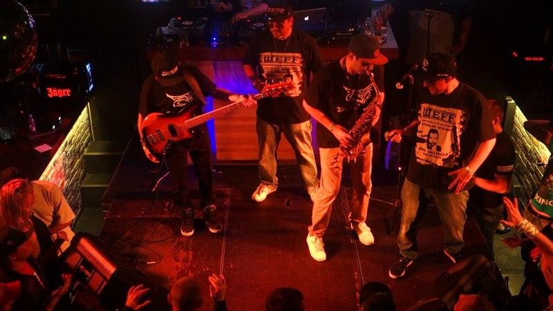 BAD BALANCE дали большой концерт в Москве, на котором ШeFF представил сольную пластинку Gangsta Jazz. (19 мая 2018 г.)