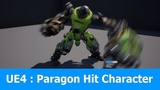 Unreal Engine Paragon Hit Character