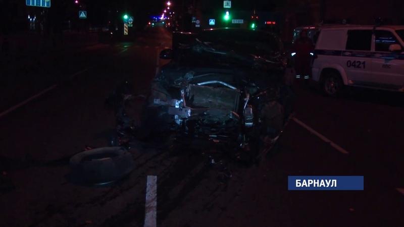 Виновник смертельной аварии в центре Барнаула не раз привлекался за превышение скорости