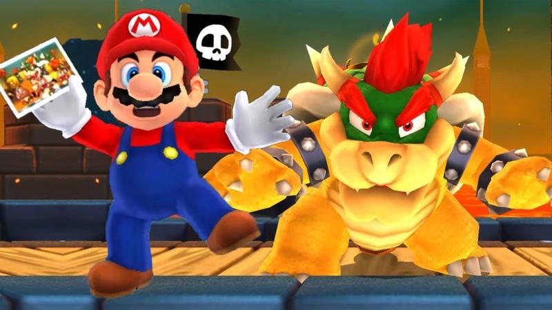 СУПЕР МАРИО ЕНОТИК 3 БИТВА С БОССОМ мультик игра для детей Super Mario 3D Land НОВЫЕ ПРИКЛЮЧЕНИЯ