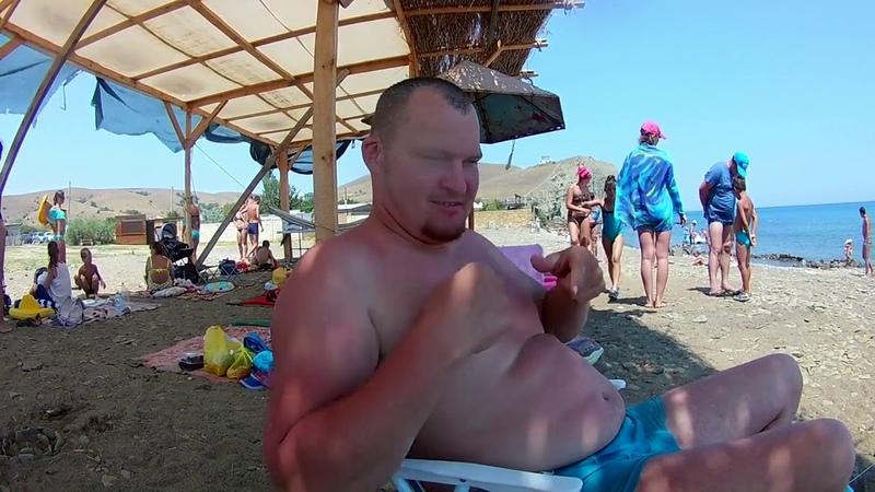 Крым 3 часть ( Судак Автокемпинг Капсель и Бугаз пляж )