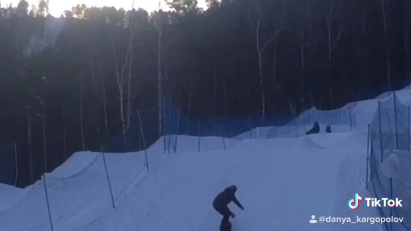 Snowboarding по лайтам.