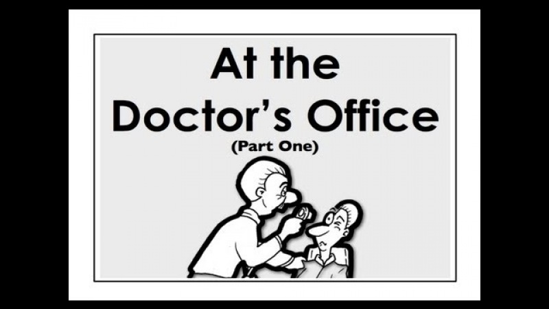 At the Doctor's Office | Part 1 | Easy English Conversation Practice | ESL