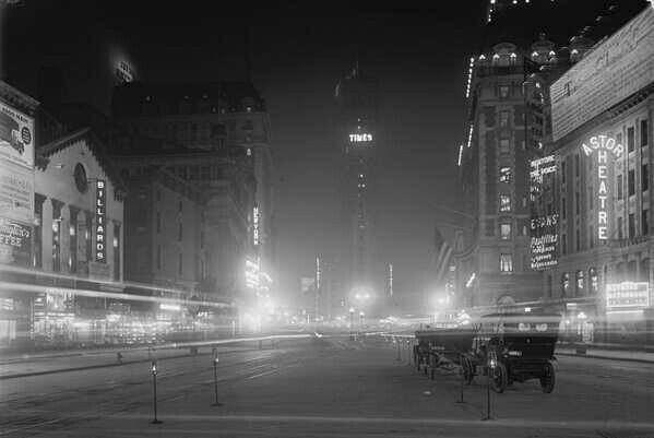 Таймс сквэр нью йорк сша 1911 г