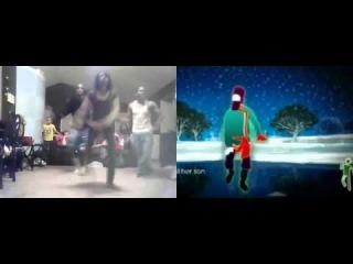 Just Dance 2 - Rasputin (side by side)