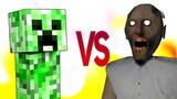 ГРЕННИ VS МАЙНКРАФТ СУПЕР РЭП БИТВА Granny Horror ПРОТИВ Minecraft