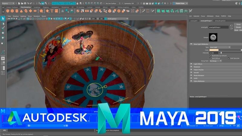 Autodesk Release Maya 2019