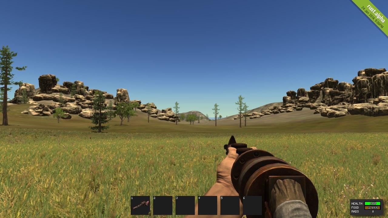 Как выглядит Pipe Shotgun в игре Rust