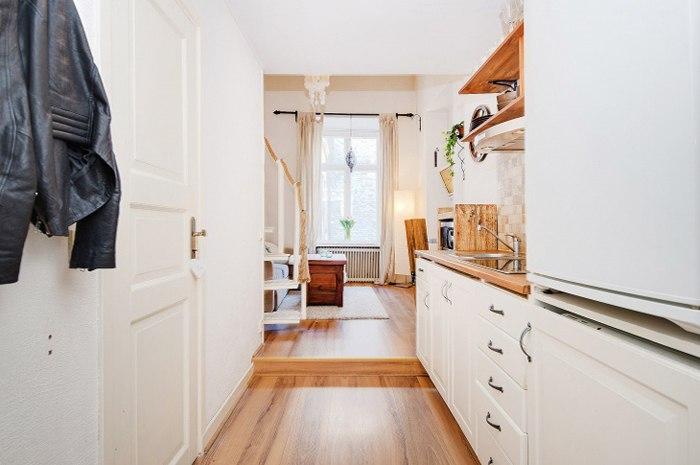 Малометражная квартира 23 м в Стокгольме / Швеция.