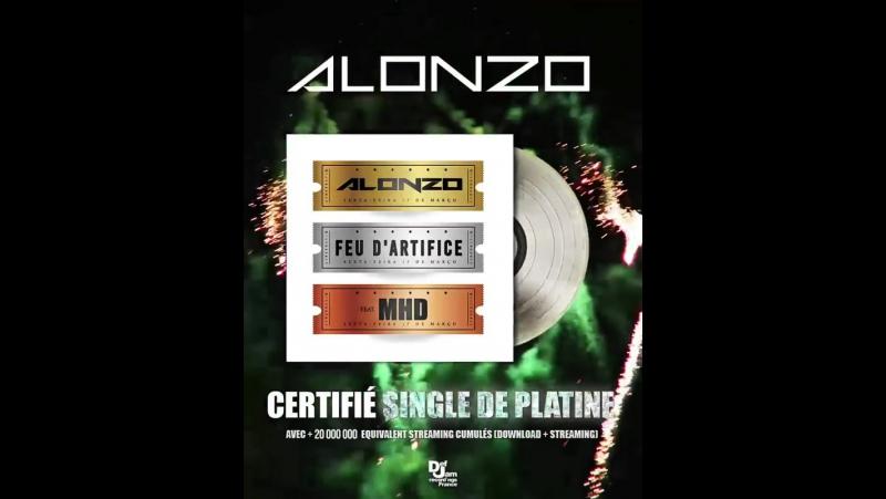 Alonzo - Feu d'artifice (feat. MHD) [Single De Diamant]