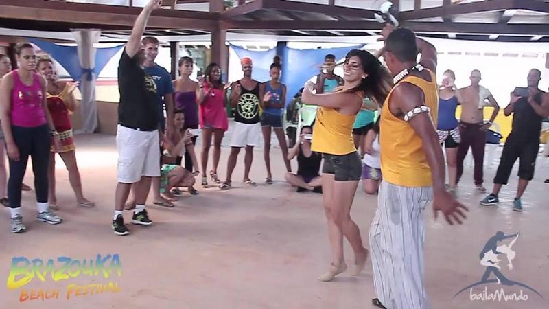 Baila Mundo - Braz dos Santos e Romina Hidalgo (Brazouka Beach Festival)