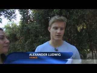 Hunger Games And Vikings Star Alexander Ludwig