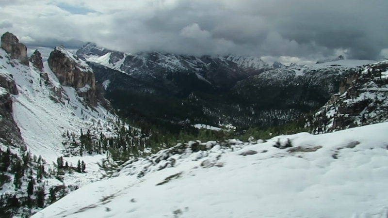 Италия. Близ Тре-Чиме-ди-Лаваредо (Доломитовые Альпы)