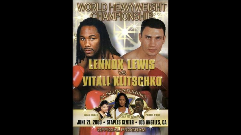 Леннокс Льюис vs Виталий Кличко (Lennox Lewis vs Vitali Klitschko) 21.06.2003