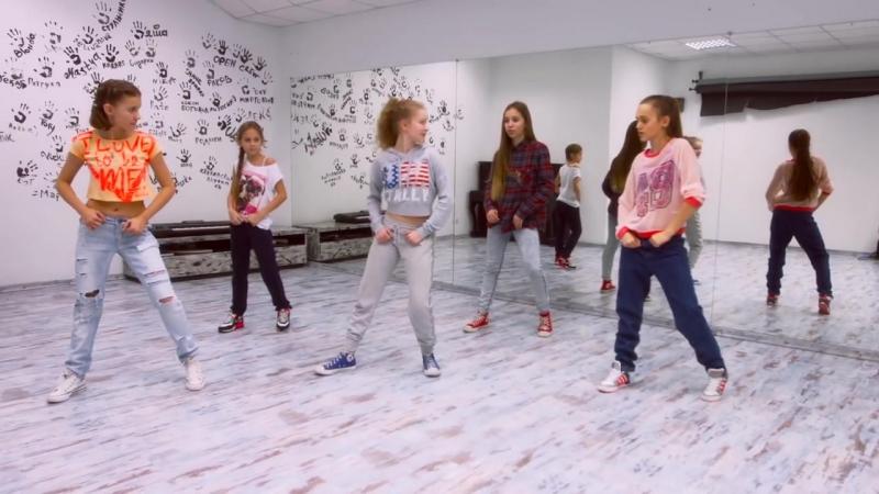 OPEN KIDS - Stop people! Официальный видео урок по хореографии из клипа - Open Art Studio.mp4