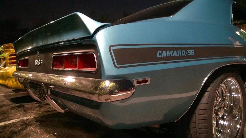 V8 SOUND FROM HELL!! - '69 Camaro SS w/ 540 Merlin Big Block