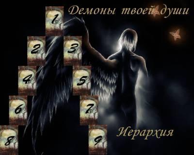 """Расклад """"Иерархия демонов твоей души""""  8m8XX_zmyY8"""