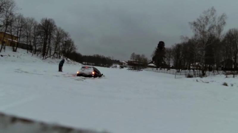 200-й крузер провалился под лёд