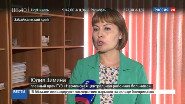 Новости на Россия 24 • Дело о двенадцати сиротах: в Забайкалье расследуют фальшивую диспансеризацию детей