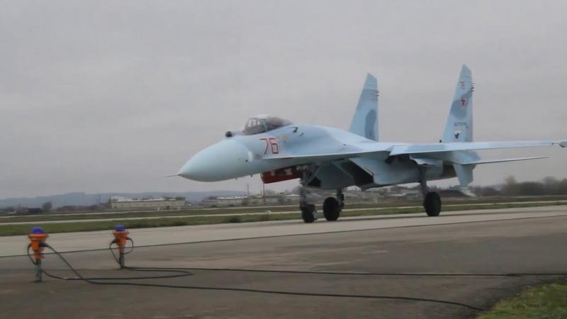 Истребительная авиация ЮВО пополнилась звеном модернизированных самолетов Су 27СМ3 поколения «4»