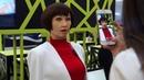 Робот Алиса Зеленоградова передает привет Первому Студенческому агентству
