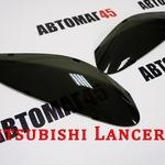 Реснички на фары Mitsubishi Lancer 9