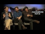 Bradley Cooper, Zach Galifianakis And Ed Helms Interview -- The Hangover Part III