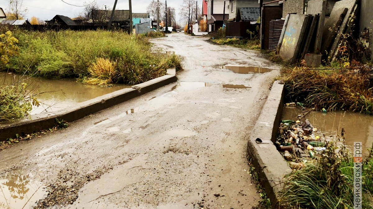 дороги, чайковский район, 2018 год
