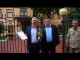 С Днем Независимости! Открытки переданы в консульство Украины