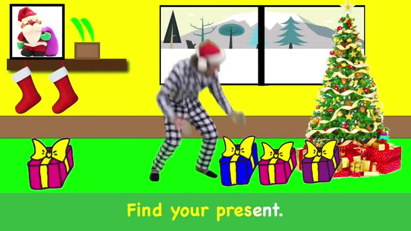 Santa Is Coming Christmas Song with Matt Story Song Learn English Kids