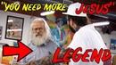"""YOU NEES JESUS Post Malone"" says Elder Man"