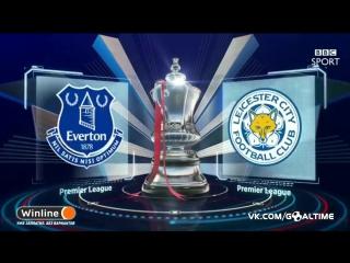 Эвертон - Лестер 1:2. Кубок Англии 2016/17. 1/32 финала.
