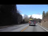Volvo против фуры. Водитель выжил в лобовом столкновении! (18 )